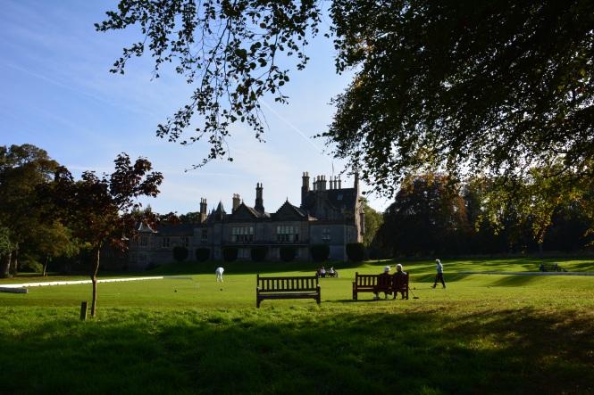 Lauriston Castle dari Belakang