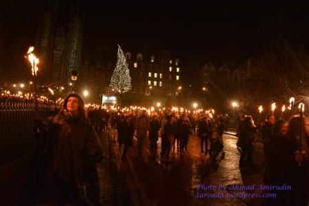 Torchlight Procession Edinburgh-National Gallery