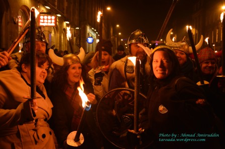 Torchlight Procession Edinburgh-Viking