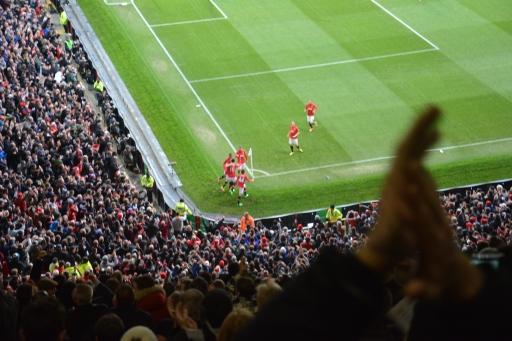 Gol Stadion Old Trafford Manchester United