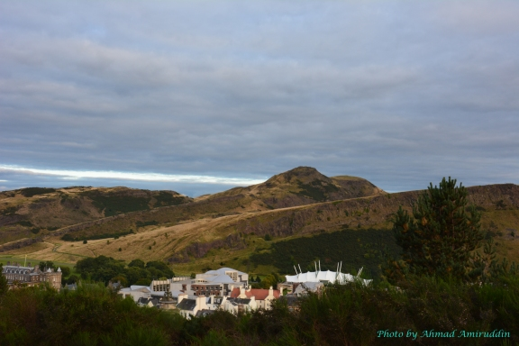 3 Arthurs Seat from Calton Hill