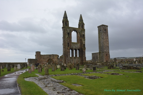 Ruin of St Andrew Chatedral