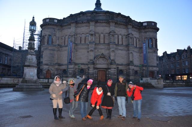 Perayaan Tahun Baru 2014 : Hogmanay di Edinburgh